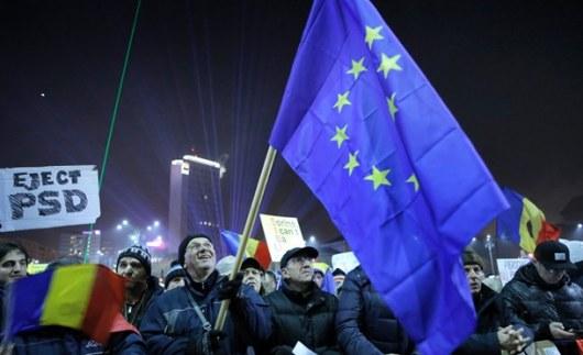 Неменее 500 тыс. граждан Румынии требуют отставки руководства